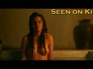 Lucy lawless en viva bianca nat en topless video-