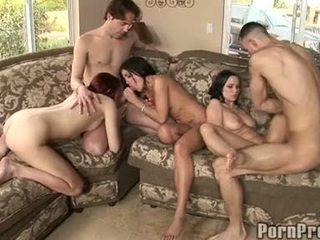 hardcore sex, cumshots, groupsex