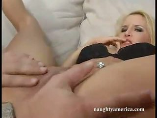 fuck loving bitch Angel Cassidy spreads her pussy wider and gets real boned deep