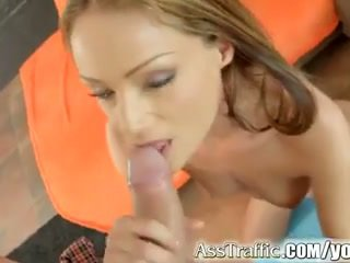 Sophie lynx gets anal inpulit și swallows sperma