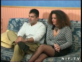 French amateur couple doing anal sex in front of us