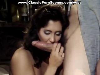 Sensuous Brunette In Gang Intercourse