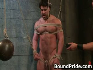 Brenn and chad in extraordinary homo slavery and setrap 17 by boundpride