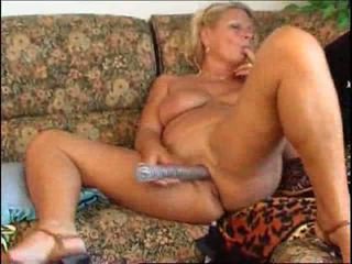 Hot mature solo play