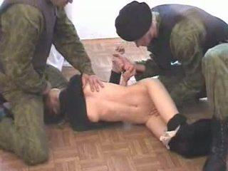 Two armén men brutalize terrorist video-