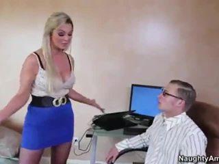 more bigtits, nice oral, great blonde
