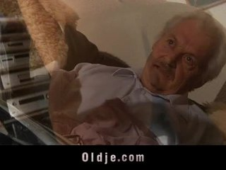 real cocksucking any, grandpa full, full oldman real