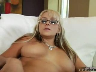 Sizzling Honey BrAndy Blair Eagerly Takes A Long Dong In This Boyr Moist Mouth
