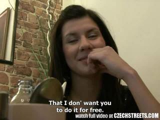 Tjeckiska streets - ung tonårs flicka gets det hård i hotell rum video-