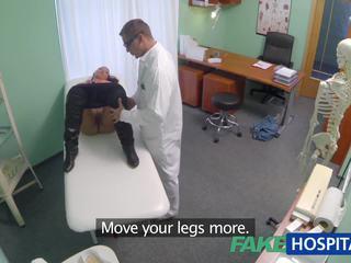Fakehospital 已婚 妻子 同 fertility 问题 has 阴道 examined 和 性交 由 该 医生