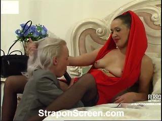 Helena এবং randolph mindblowing strapon সিনেমা