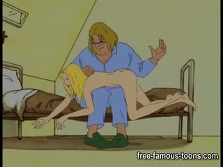 Innocent κορίτσια seduced και spanked