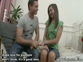Teen Cute Maia Finally Fet Her First Orgasm.