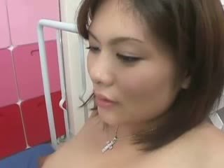 Asian pregnant has horny hairy beaver