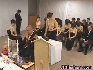 japanse, groepsseks, grote borsten, interraciale