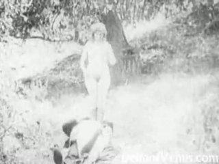 Piss: antiik porno 1915 - a tasuta sõitma