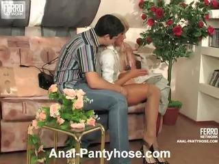 Cornelia And Adam Nasty Anal Hose Scene