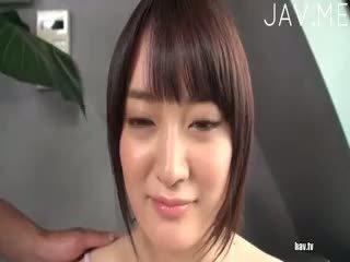 brunette, check japanese fresh, new cumshot