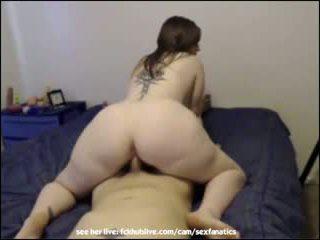 BBW gets fucked by boyfriend