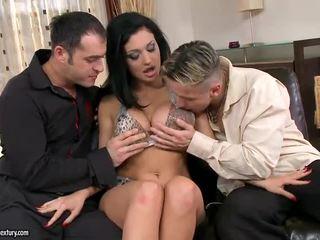 zábava hardcore sex, všetko double penetration, každý skupinový sex pekný