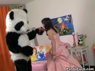 Teenaged fairy revived ของเล่น panda และ cocksuck