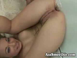 Jamie elle drinks užpakalis smoothie