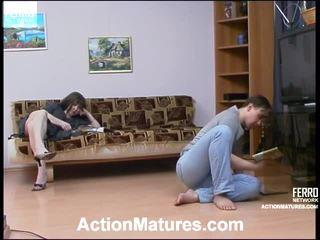 Elinor και morris σεξουαλικός γερασμένο βίντεο