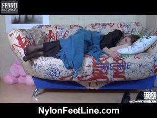 Vivian a nicholas nylon footfuck video