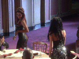 Jessica drake داخل حار مجموعة جنس بعد أداء
