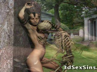 3d creatures ファック 女の子!