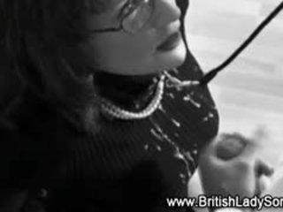 britanic real, calitate muie frumos, cumshot