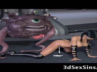 Ogres y aliens joder 3d elf niñas!