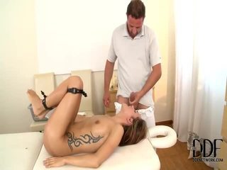 David Perry Runs A Massage Emporium, And In A Previous Installments Of This Hot Series He Discovers That His Rising Masseuse Leyla Cocoa Has Serious Sexual Hangups, Leading To On The Job Slo