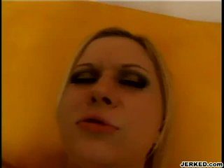 Blond aaralyn barra receives her dar hole pounded hard