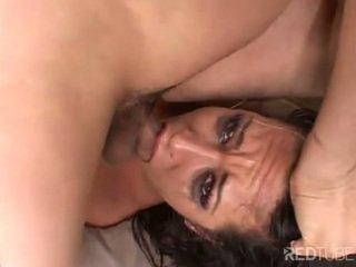 Pornstar Carmella Bing gangbanged in all holes