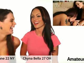 Chyna bella ir tessa lane seksas