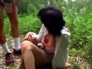 亚洲人 女学生 turned 性别 奴隶 gets 滥用 性交