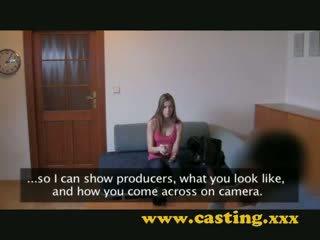 casting internal cumshot of Pretty doll