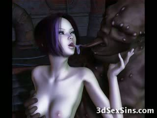 Ogres nailing 3d elf 소녀!