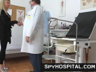 vagina, arzt, versteckte cams