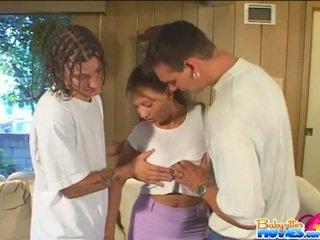 Babysitter melanie jagger's threesome
