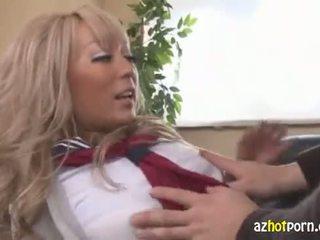 blondes, japanese, schoolgirls