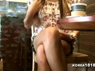 voyeur, masaje, coreano