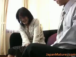 Dojrzała prawdziwy azjatyckie kobieta getting part3