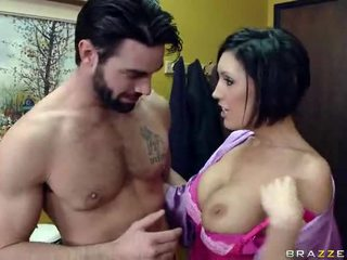 Busty Wife Goes To Her Neighbor