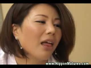 japanese, cougar, exotic, mama