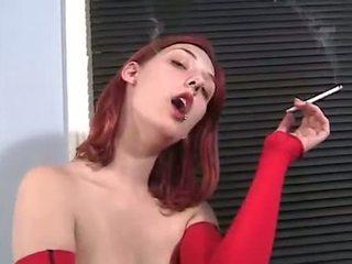 تدخين, أحمر الشعر, لطيف عري
