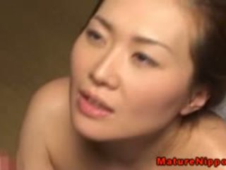 Japanese Mature Milf Loves Sucking Dick