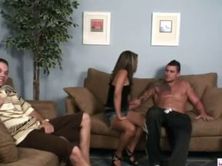 A poker game gets edan when hubby bets his bojo margarita as payment when he loses he has to convince her that she has to go along for the ride watch as gotti trumps his ace over hubby s queen and flushes her pink hole as hubby watches her repay a 4 000