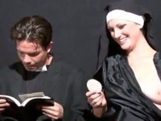 pissing, blowjob, बुत, nun